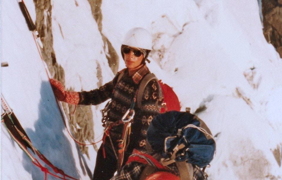 Couloir Gervasutti - Mt. Blanc - 1981