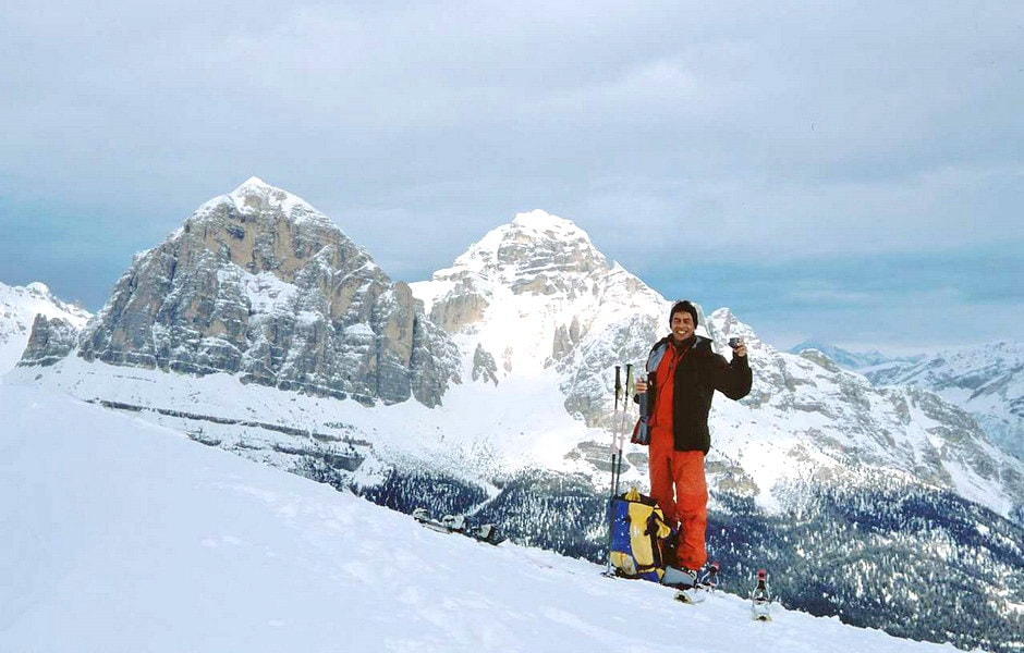 2004 - Ski mountaineering above Cortina