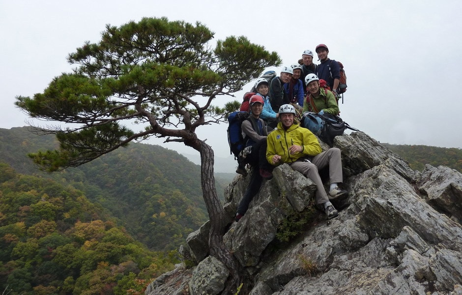 2010 - Rock climbing course in Japan