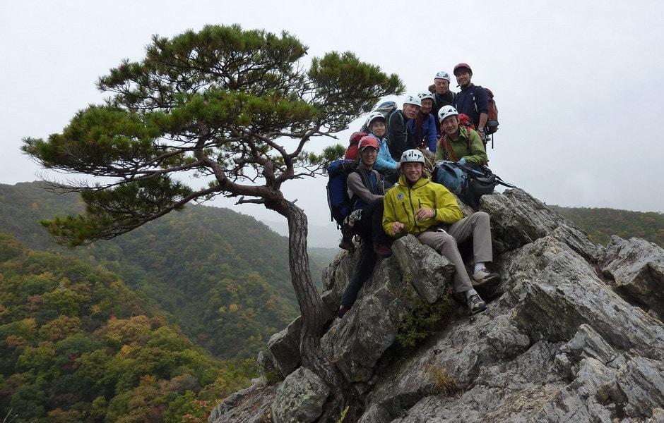 2010 - Corso roccia in Giappone