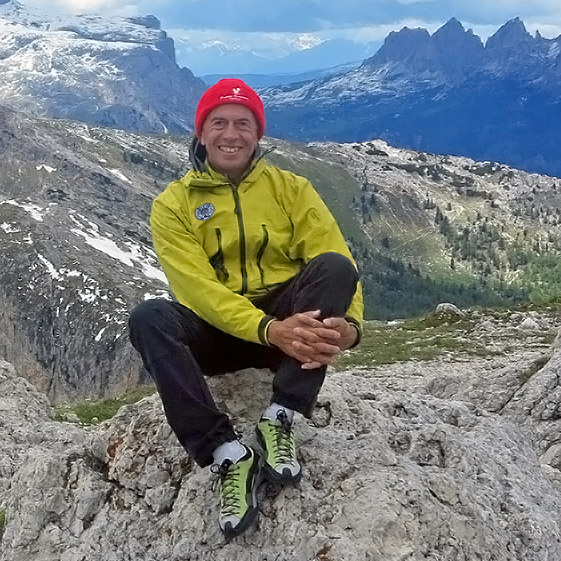 Enrico Maioni, local mountain guide