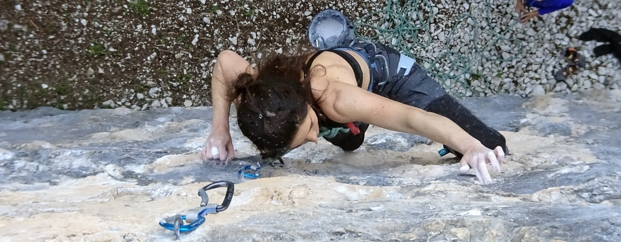 Arrampicata in falesia - Alice Colli
